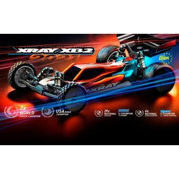 XRAY XB2C'21 - 2WD 1/10 ELECTRIC OFF-ROAD CAR - CARPET EDITION